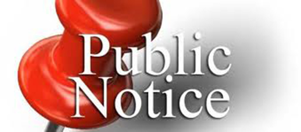 Public Notice for RCES Walking Track Bid