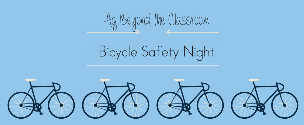 Ag Beyond the Classroom Bicycle Safety