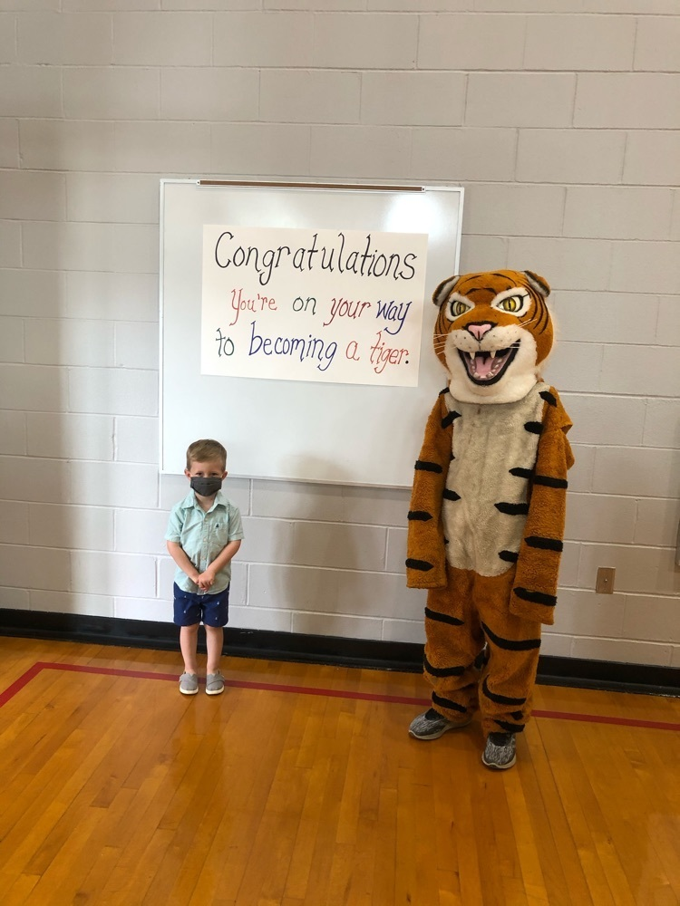 We are excited to welcome our new Kindergartners to RCES! #TheTigerWay
